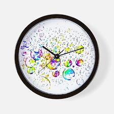 Unique Music notes Wall Clock