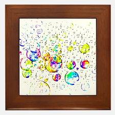 Cute Color Framed Tile