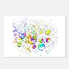 Cute Bubble Postcards (Package of 8)