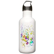 Funny Music Water Bottle