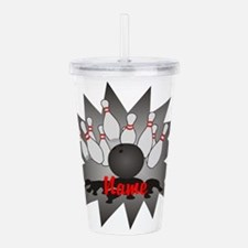 Personalized Bowling Acrylic Double-wall Tumbler