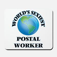World's Sexiest Postal Worker Mousepad