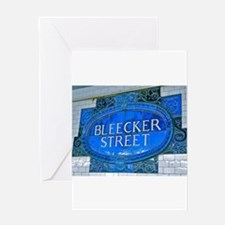 Bleeker Street : NYC Subway Greeting Cards