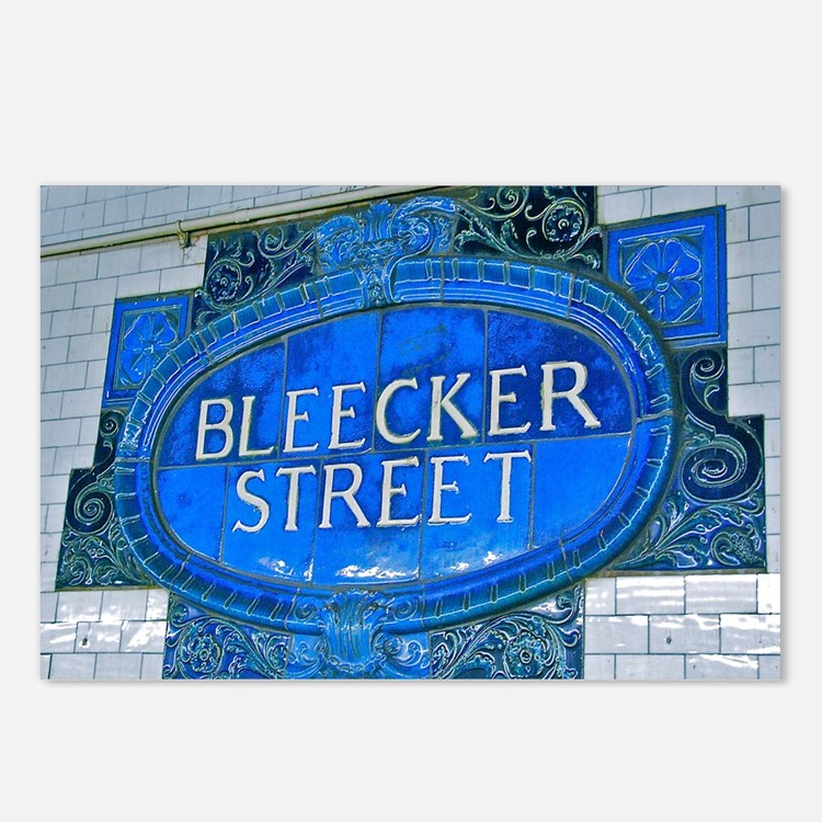 Bleeker Street : NYC Subway Postcards (Package of