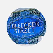 """Bleeker Street : NYC Subway 3.5"""" Button"""