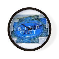 Bleeker Street : NYC Subway Wall Clock