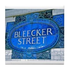 Bleeker Street : NYC Subway Tile Coaster