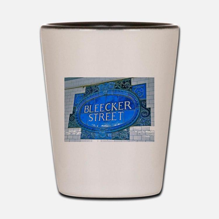 Bleeker Street : NYC Subway Shot Glass