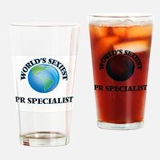 World's Sexiest Pr Specialist Drinking Glass