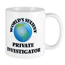 World's Sexiest Private Investigator Mugs