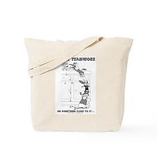 Ferret Teamwork Tote Bag