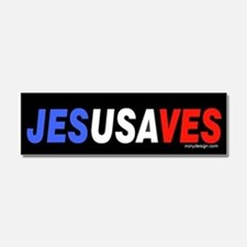 Jesus Saves Car Magnet 10 x 3