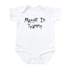 Maggot In Training Infant Bodysuit