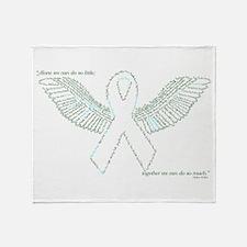 Cute Preemie awareness Throw Blanket