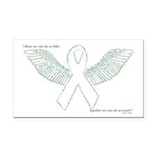 Cool Gastroschisis awareness Rectangle Car Magnet