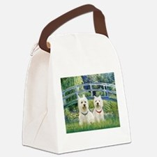 Bridge-2 Westies Canvas Lunch Bag