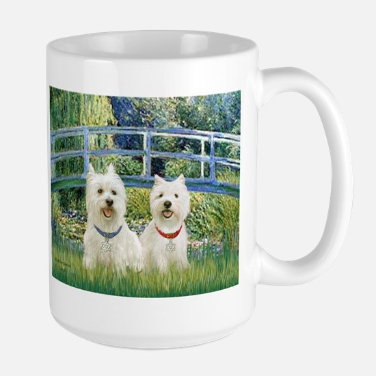 Bridge-2 Westies Large Mug