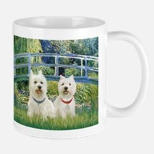 Bridge-2 Westies Small Small Mug