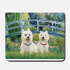 Bridge-2 Westies Mousepad