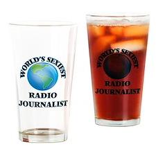 World's Sexiest Radio Journalist Drinking Glass