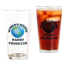 World's Sexiest Radio Producer Drinking Glass