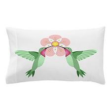 Hummingbird Blossom Pillow Case