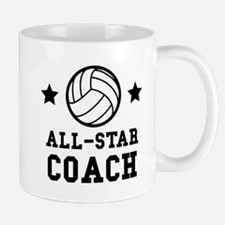 All Star Volleyball Coach Mugs