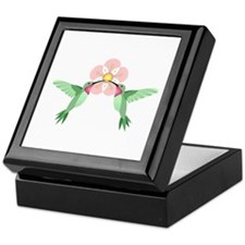 Hummingbird Blossom Keepsake Box