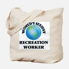World's Sexiest Recreation Worker Tote Bag