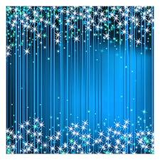Star Beams- 5.25 X Flat Cards Invitations