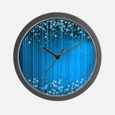 Star Beams- Wall Clock