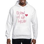 Friend of the Bride Hooded Sweatshirt