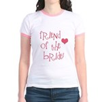 Friend of the Bride Jr. Ringer T-Shirt