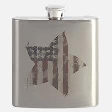 Patriotic Star: Flask