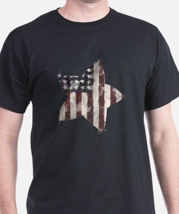 Patriotic Star: T-Shirt