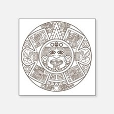 Mayan Circle Sticker