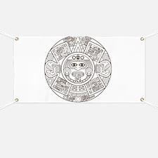 Mayan Circle Banner
