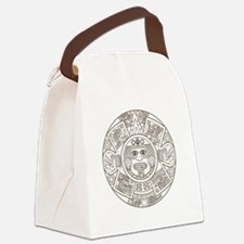 Mayan Circle Canvas Lunch Bag