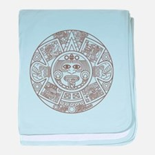 Mayan Circle baby blanket