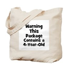 WARNING~This package contains Tote Bag