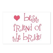 Best Friend of the Bride Postcards (Package of 8)