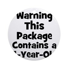 WARNING~This package contains Ornament (Round)