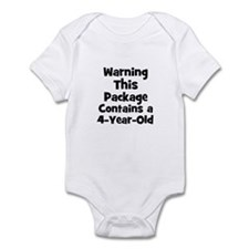 WARNING~This package contains Infant Bodysuit