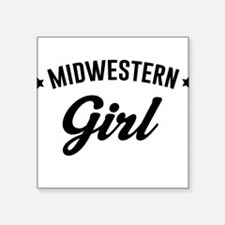 Midwestern Girl Sticker