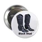 Yo Black Stud Button