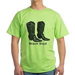 Yo Black Stud Green T-Shirt