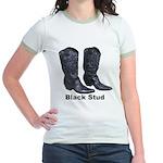Yo Black Stud Jr. Ringer T-Shirt