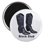 Yo Black Stud Magnet