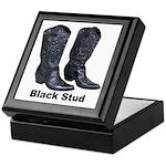Yo Black Stud Keepsake Box