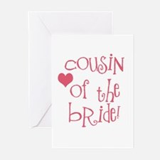 Cousin of the Bride Greeting Cards (Pk of 10)